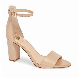 Vince Camuto Corlina Ankle Strap Sandal Nude 7